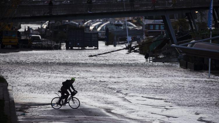 La Seine à Paris, le 6 mars 2020. (MAXPPP)
