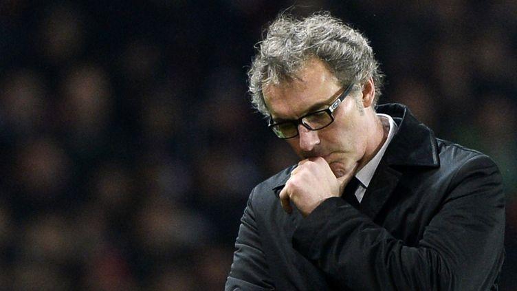 Laurent Blanc s'est montré très offensif avant d'affronter le LOSC (FRANCK FIFE / AFP)