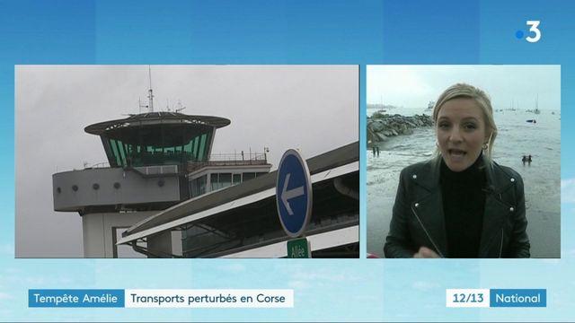 Tempête Amélie : la Corse-du-Sud toujours en vigilance orange