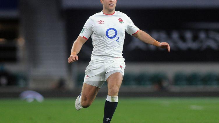 L'arrière de l'équipe d'Angleterre Max Malins, le 21 novembre 2020 (ANDREW COWIE / COLORSPORT)