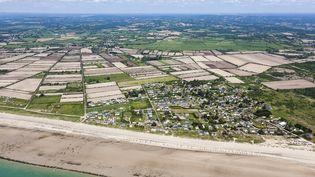 Vue aérienne de Breteville (Manche), le 28 mai 2012. (LEROY FRANCIS / HEMIS.FR / AFP)