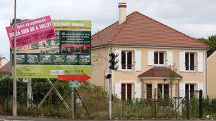 De l'immobiler mis en vente dans la commune d'Ormesson-sur-Marne (Val-de-Marne), en septembre 2008. ( MAXPPP)