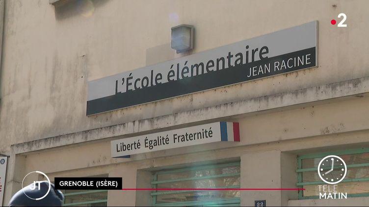 L'école élemntaire Jean Racine, à Grenoble. (France 2)