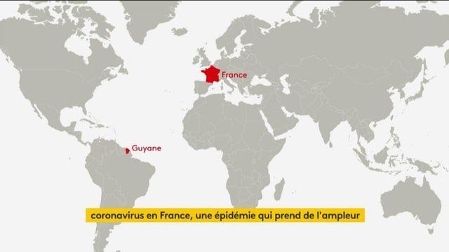 Covid-19 en France : l'épidémie prend de l'ampleur