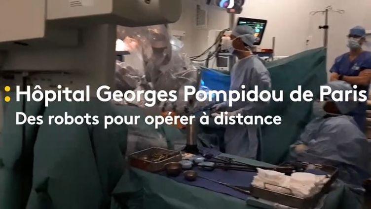 Des robots chirurgiens sont en cours de déploiement dans les hôpitaux parisiens. (Radio France)