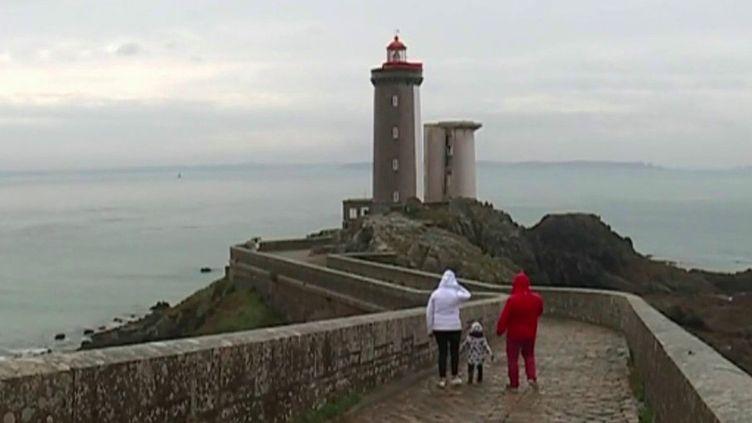 Journées du patrimoine 2020 : cap sur le phare du Minou, dans le Finistère (FRANCE 3)
