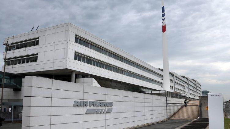 Le site d'Air France à Roissy-en-France (Val-d'Oise). (JACQUES DEMARTHON / AFP)