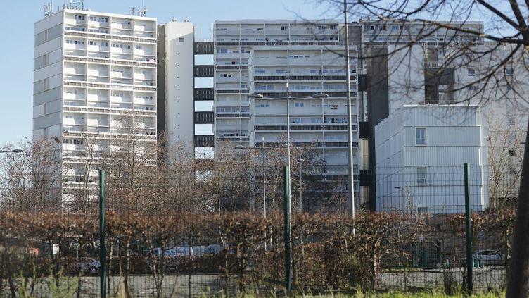 Une vue du quartier des Aubiers à Bordeaux, le 3 janvier 2021. (THIBAUD MORITZ / MORITZ)