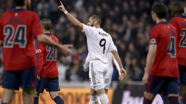 Karim Benzema (Real Madrid) (DANI POZO / AFP)