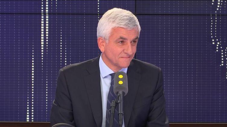 Hervé Morin, le 24 septembre 2018 sur franceinfo. (FRANCEINFO)