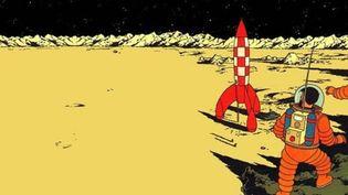 On a marché sur la Lune  (Hergé)