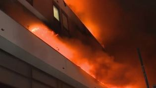 Incendie Paris (FRANCE 2)