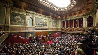 Le Parlement se réunit lundi après-midi à Versailles, en Congrès, là où François Hollande s'était adressé aux députés et aux sénateurs en novembre 2015, après les attentats de Paris. (MAXPPP)