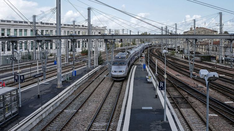 (Le gouvernement a validé la réalisation des lignes à grande vitesse Bordeaux-Dax et Bordeaux-Toulouse © MAXPPP)