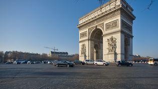 L'Arc de triomphe, à Paris, en novembre 2017. (JEAN ISENMANN / ONLY FRANCE / AFP)