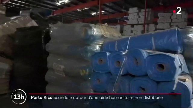 Porto Rico : le scandale de l'aide humanitaire non distribuée