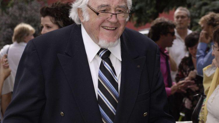 L'auteur-compositeur romancier Raymond Lévesque lors de la14e edition du Gala des Masques,Montreal, le 26 août 2007 (PIERRE ROUSSEL/NEWSCOM/SIPA / SIPA USA)