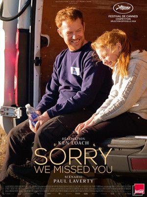 """L'affiche de """"Sorry We Missed You"""" de Ken Loach (Le Pacte)"""