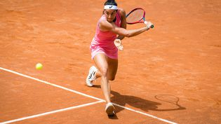 La Française Caroline Garcia lors du WTA 1000 de Rome, le 11 mai 2021. (ROB PRANGE / SPAIN DPPI)