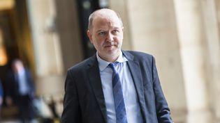 Denis Baupin arrive à l'Assemblée nationale (Paris), le 19 mai 2015. (AURELIEN MORISSARD / CITIZENSIDE / AFP)