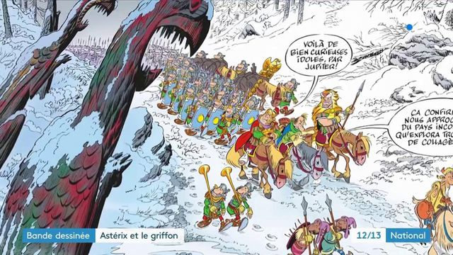 Astérix et le Griffon, une39èmeédition publiée 5 millions de fois