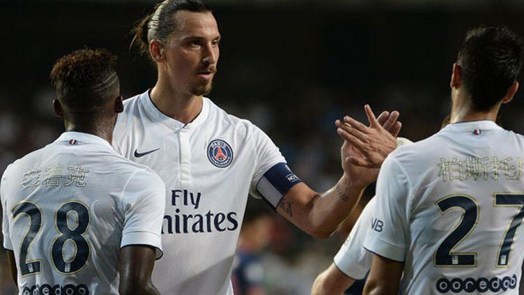 Zlatan Ibrahimovic a signé un triplé en amical face à Kitchee