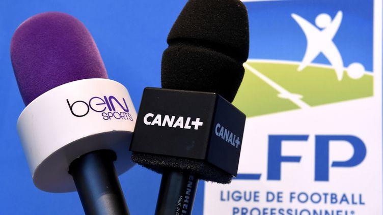 """""""Canal+ est en situation de monopole, voire de duopole pour être poli et pour respecter l'existence de BeIN"""",explique Pierre Meas, consultant en droit du sport (photo d'illustration). (FRANCK FIFE / AFP)"""