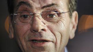 Jean-Claude Chermann, co-découvreur du virus du sida, à l'Élysée, le 29 octobre 2008. (GERARD CERLES / AFP)