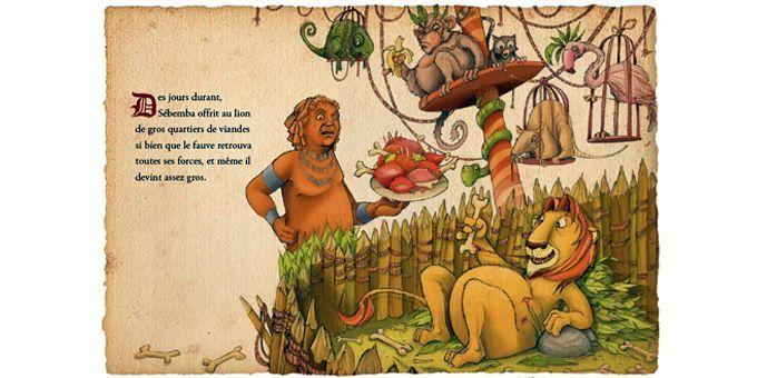 Le lion qui ne savait pas chasser, de J.S. Blanck  (Jonathan Bousmar / Alzabane éditions)