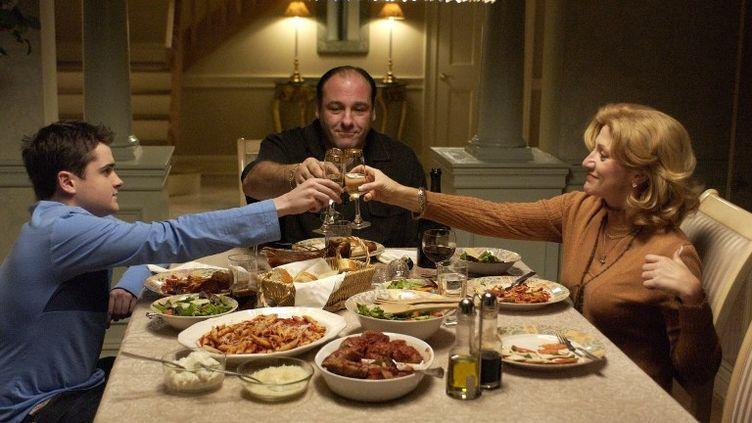 """""""Les Soprano"""" a été diffusée sur HBO de 1999 à 2007.  (KOBAL / AFP )"""