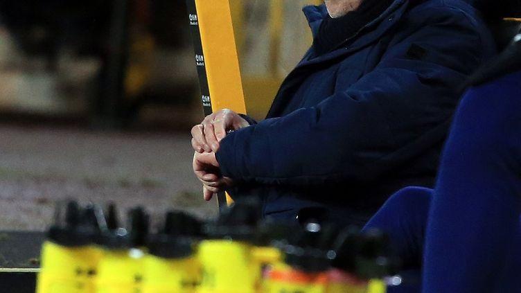 L'entraîneur de Tottenham, José Mourinho (LINDSEY PARNABY / POOL)