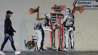 L'hommage de Banksy à Jean-Michel Basquiat à Londres, septembre 2017.  (Instagram de Banksy)