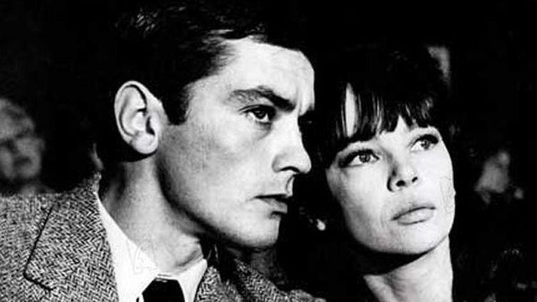 """Alain Delon et Leslie Caron dans """"Paris brûle-t-il""""  (Paramount)"""