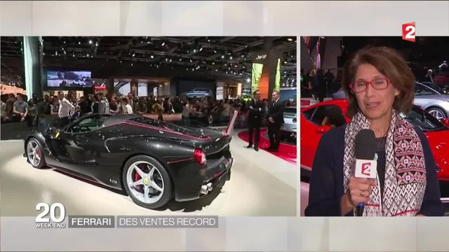Mondial de l'Auto : grand succès pour le stand Ferrari