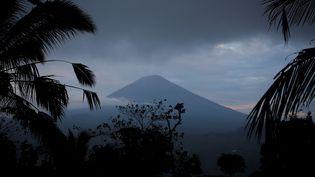 Le volcan Agung, sur l'île de Bali (Indonésie), le 24 septembre 2017. (DARREN WHITESIDE / X00511)
