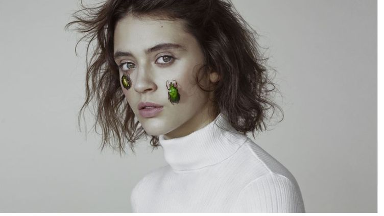 La chanteuse Pomme, 23 ans. (MARTA BEVACQUA / UNIVERSAL MUSIC FRANCE)