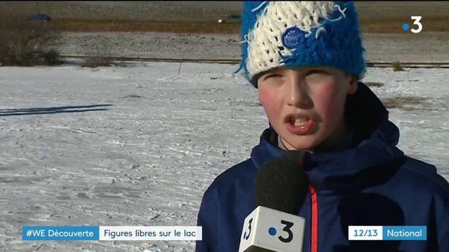 Jura : les patineurs à l'assaut du lac de Lamoura