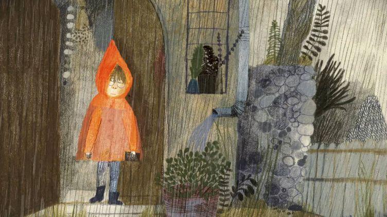 """""""Un grand jour de rien"""", livre pour la jeunesse de Beatrice Alemagna.  (Albin Michel)"""