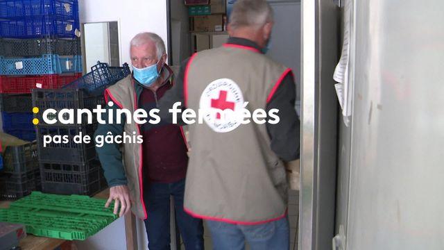 Angoulême : les denrées destinées aux cantines redistribuées à des associations