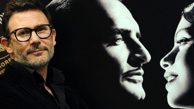 """Le réalisateur de """"The Artist"""", Michel Hazanavicius, le 5 décembre 2011 à Rome (Italie). (GABRIEL BOUYS / AFP)"""