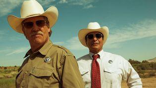 "Jeff Bridges et Gil Birmingham dans ""Comancheria"" de David Mackenzie  (Wild Bunch Distribution )"