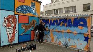 Pendant plusieurs mois, les artistes ont transformé la Réserve de Malkoff en ruche créative pour offrir une oeuvre éphémère et collective aux habitants de la ville  (France 3 / Culturebox)