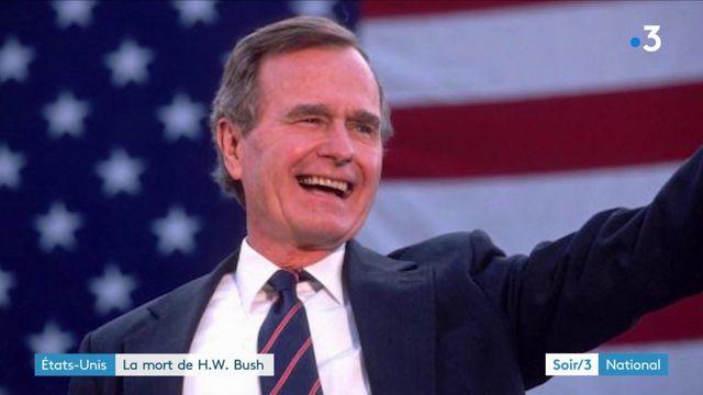 Etats-Unis : George H. W. Bush est mort