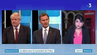 Boris Johnson et Jeremy Hunt (France 3)