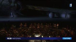 En direct d'Orange (Vaucluse), la soprano Natalie Dessay nous raconte le Rigoletto de Verdi. (France 3)