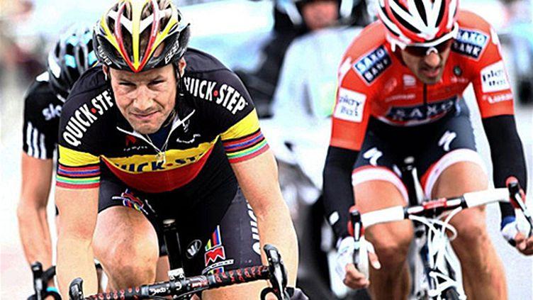 Boonen va retrouver, comme en 2010, Cancellara sur sa route (YORICK JANSENS / BELGA)