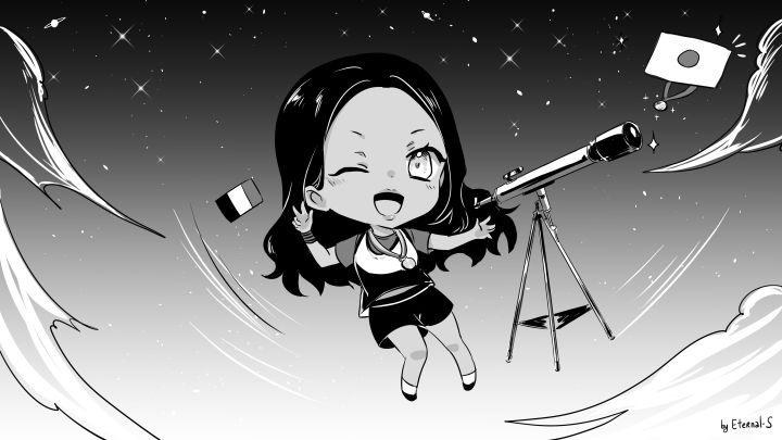 Gloria rêve de décrocher une médaille à Tokyo. Reste maintenant à voir si les étoiles tokyoïtes seront alignées pour cette passionnée d'astronomie. (Eternal-S)