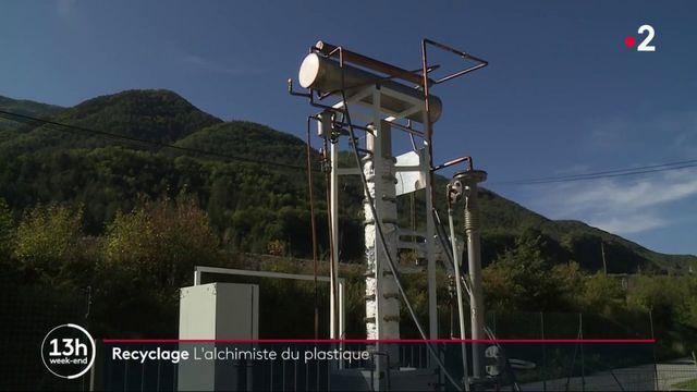 Recyclage : une machine transforme le plastique en diesel