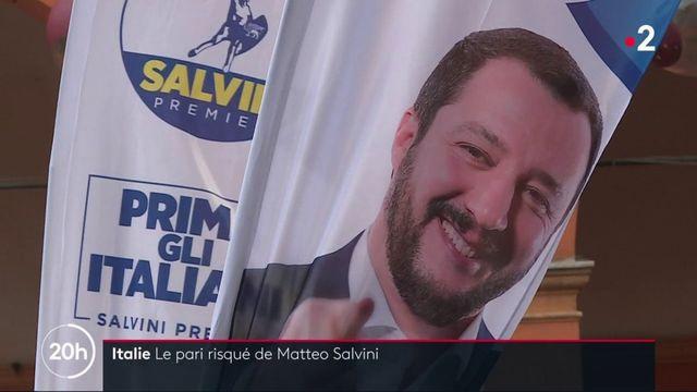 Italie : le désaveu de la stratégie de Matteo Salvini