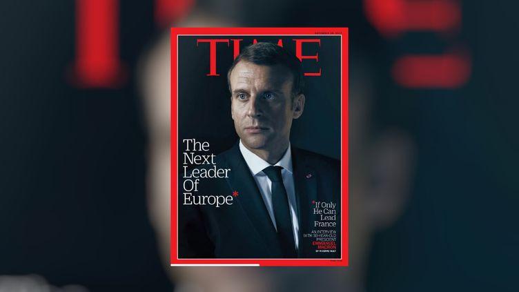 """La une de l'édition du """"Time"""" du 9 novembre 2017. (TIME / FRANCEINFO)"""